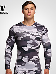 Running T-shirt / Tights / Tops Men's Breathable / Quick Dry / Compression Terylene Fitness / Running Sports Sports WearIndoor / Outdoor