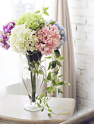 "27.6"" Modern Style Simulation Hydrangeas Flowers Home Decor Multicolor Optional 1pc/set"