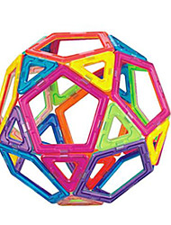 Changed Tyra Magnetic Blocks, Children's Educational Toys, 3 to 7 Years Old(34 Magnetic Pills,15 Pieces of Card)