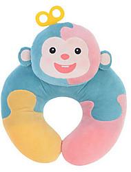 Metoo Microphone Rabbit Spell Sunpoo U-Shaped Neck Pillow Nursing Plush Toys Birthday U-Shaped Light Blue Puzzle