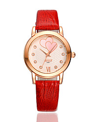 SKMEI® Women's Leather Band Japanese Quartz 30M Water Resistant Fashion Watch Cool Watches Unique Watches