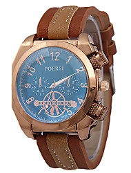 Men's Fashion Belt Watches Rose Gold Square Watches Header Quartz Watches Individuality Watches