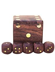 royal st. dés complètement bois véritable dés hua de Limu incrustées passagers de cuivre sur G151 sont arrivés / g151a boîte en bois avec