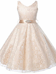 Girls Party Dress Kids 2016 Designer Children Teenagers Prom Party Ceremonies Ball Gowns Dresses Birthday Princess Dress