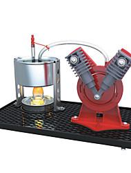 brinquedos ciência experimento menino que se tornou popular DIY ciência ciência e educação e tecnologia experimento pequeno motor a vapor
