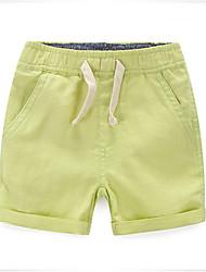 Jungen Shorts - Baumwolle einfarbig Sommer / Ganzjährig / Frühling / Herbst