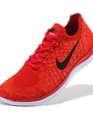 Nike Free 4.0 RN Flyknit Round Toe / Sneakers / Casual Shoes / Running Shoes Women's Wearproof Green / Red / Pink / PurpleRunning/Jogging