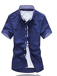 2016 Hot-Selling Summer New Arrival Men's Clothing Short-Sleeve Shirt Casual Shirts Slim Fit Stylish Men's Dress Shirts