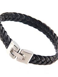 Cool Man  Leather Bracelets  Charm Design Bangles for Men