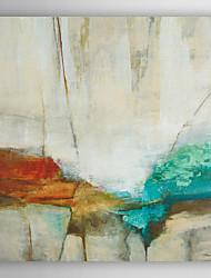 mão pintura a óleo pintado pedra abstrata colorflu com moldura esticada arts® 7 parede
