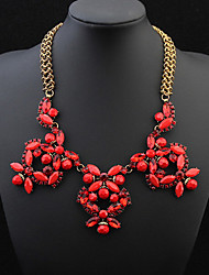 Fashion Butterfly Flower Necklace Exquisite Accessories