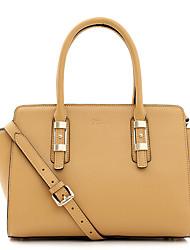 Stiya Fashion Genuine Leather Two Ways Design Multifunction Large Capacity Lady Shoulder Bag