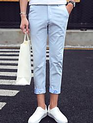 Zhuo wolf nine pants men's casual pants slim feet Haren Korean summer 9 men's pants pants tide K2612