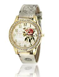 Women's Casual Fashion Silicone Band Quartz Watch