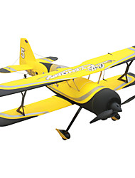Dynam Pitts model 12 1:8 Brushless Electric 50KM/H RC Airplane 4ch 2.4G EPO Yellow RTF
