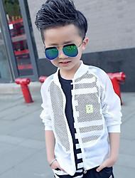 Casual/Dagelijks-Effen-Polyester-Zomer-Boy's-Kostuum & Blazer-Wit