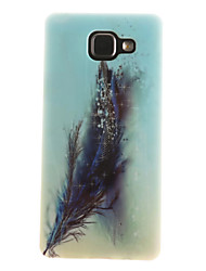 For Samsung Galaxy Case IMD / Pattern Case Back Cover Case Feathers Soft TPU Samsung A7(2016) / A5(2016) / A3(2016) / A5 / A3