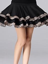 Bas(Noire / Rouge / Bleu Royal,Coton,Danse de Salon)Danse de Salon- pourFemme Au drapée Spectacle Danse de Salon Taille basse
