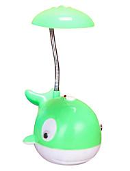 (Couleur aléatoire) dauphins bande dessinée créative conduit rechargeable lampes nightlight