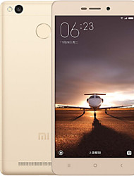 "XIAOMI Redmi 3S 5.0""FHD Android 5.1 LTE Smartphone,Snapdragon430,Octa Core,3GB+32GB,13MP+5MP,4100mAh Battery,Gold"
