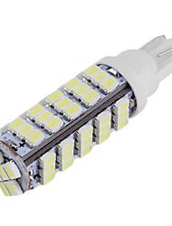 10pcs T10 1206 68 СМД белый водить автомобиль сторона клина лампа маркер лицензии луковица пластинчатые огни (DC12V)