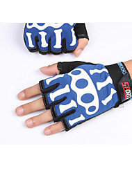 Skeleton Bone Half Finger Gloves Male Ladies Summer Outdoor Fitness Sports Cycling Breathable Bicycle Gloves