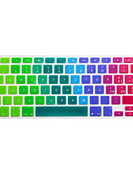 SoliconeKeyboard Cover For13.3 '' / 15.4 '' MacBook Pro con Retina / MacBook Pro / Macbook Air con Retina / Macbook Air