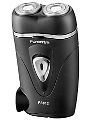 Electric Shaver Men Face Electric / Rotary Shaver Pivoting Head Stainless Steel FLYCO