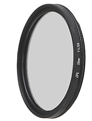 emoblitz 58mm cpl polarisant circulaire filtre de lentille