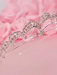 Rhinestone Crown Bride Headwear Decoration