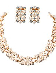 Fashion Temperament Luxury Pearl Jewelry Sets