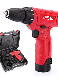 12V Lithium Battery, Rechargeable Drill, Multifunctional Electric Screwdriver (12V Electric Charge With Toolbox)