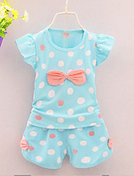 Girl Cotton Clothing Set,Summer Sleeveless
