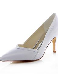 Cheap White Satin Heels - Lightinthebox.com