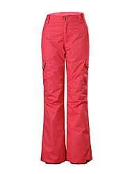 GSOU SNOW fashion red women ski pants/ women ladies breathable wearproof windproof pants