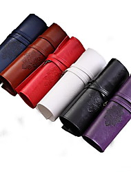 Retro Leather Pen Bag (Random Colors)