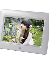 7 inch Digital Picture Frame 800*480 USB 2.0 with Clock/Music&Movie Play Support 14 Country Languages
