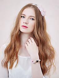 Mujer Tul Celada-Casual Bandas de cabeza 1 Pieza Blanco Redondo 40