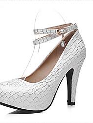 Women's Shoes Heel Heels / Platform Heels Office & Career / Dress / Casual Blue / Pink / White/725-1