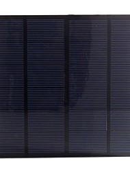 3W 6V PET Laminated Monocrystalline Silicon Solar Panel Solar Cell for DIY (SW3006)