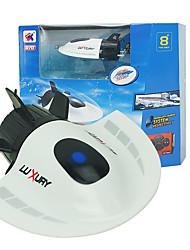 RC лодки мини подводная лодка игрушка работает скорость дистанционного управления лодкой 2.4G пластиковая туристическая подводная лодка