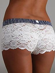 Para Mujer Bragas Panti Modelador-Encaje