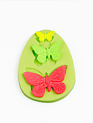 Butterfly Silicone Mold for Chocolate Polymer Clay Candy Sugarcraft Tools Cake Decoration Mould