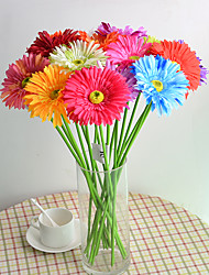 Hi-Q 1Pc Decorative Flowers Real Touch   Chrysanthemum For Wedding Home Table Decoration Artificial Flowers