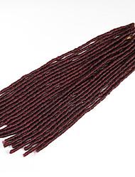 punaise La Havane / Crochet dreadlocks Extensions de cheveux 20 Inch Kanekalon 20 Brin 90g gramme Braids Hair