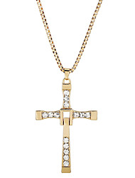 D Exceed Cross Pendant Necklace For Women And Men