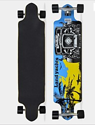 "Skateboard 41""(104.3*24.7CM) with a Chinese 12-ply maple deck ABEC-7 High Speed bearings Wheels  Limit Movement"