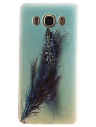 Für Samsung Galaxy Hülle IMD Hülle Rückseitenabdeckung Hülle Feder Weich TPU SamsungJ7 (2016) / J5 (2016) / J5 / J1 (2016) / J1 Ace / J1