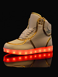 LED Light Up Shoes,Women's Shoes Colorful Comfort / Round Toe / Party& Outdoor / Casual Shoes