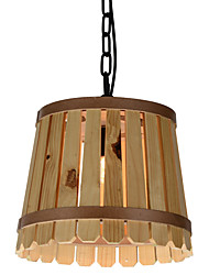 Pendant Light ,  Modern/Contemporary / Vintage / Country Others Feature for Designers Wood/ Dining Room / Kitchen /